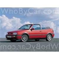 Поколение Volkswagen Golf III кабриолет