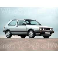 Поколение Volkswagen Golf II 3 дв. хэтчбек