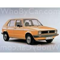 Поколение Volkswagen Golf I 5 дв. хэтчбек