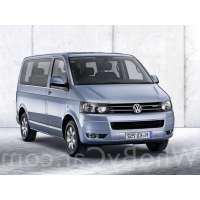 Поколение Volkswagen Multivan T5 рестайлинг