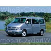 Поколение Volkswagen Multivan T4