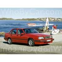 Поколение Volvo 850 седан