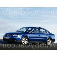 Поколение Volkswagen Passat B5 седан рестайлинг