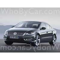 Поколение Volkswagen Passat CC I рестайлинг