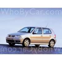 Поколение Volkswagen Polo III 5 дв. хэтчбек рестайлинг