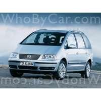 Поколение Volkswagen Sharan I 2 рестайлинг