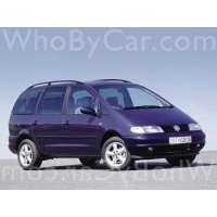Поколение Volkswagen Sharan I
