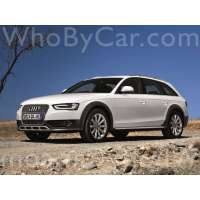Модель Audi A4 allroad