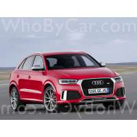 Модель Audi RS Q3