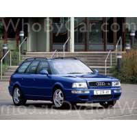 Модель Audi RS2