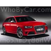 Модель Audi RS4