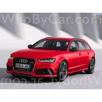 Модель Audi RS6
