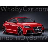Модель Audi TT RS