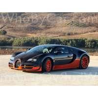 Модель Bugatti EB 16.4 Veyron