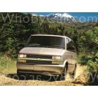 Модель Chevrolet Astro