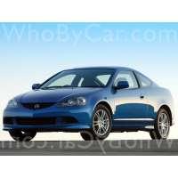 Модель Acura RSX