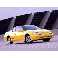 Модель Chevrolet Monte Carlo