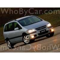 Модель Chevrolet Zafira