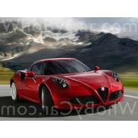 Модель Alfa Romeo 4C