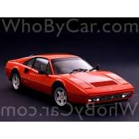 Модель Ferrari 328