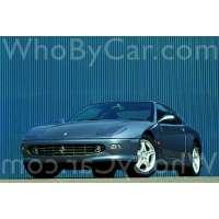 Модель Ferrari 456