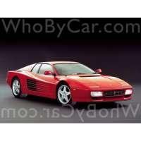 Модель Ferrari 512 TR