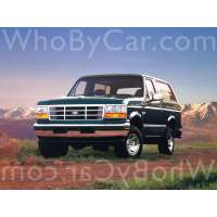 Модель Ford Bronco