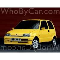 Модель Fiat Cinquecento