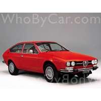 Модель Alfa Romeo Alfetta