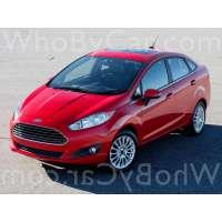 Модель Ford Fiesta