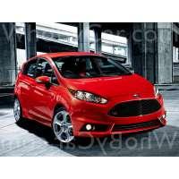 Модель Ford Fiesta ST