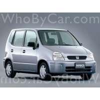 Поколение автомобиля Honda Capa