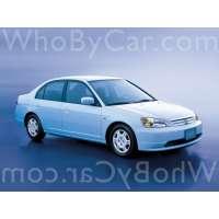 Модель Honda Civic Ferio