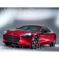 Модель Aston Martin Rapide