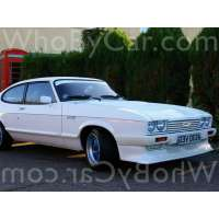 Модель Aston Martin Tickford Capri