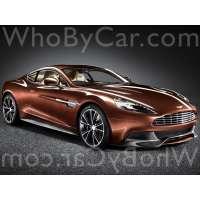 Модель Aston Martin V12 Vanquish