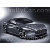 Модель Aston Martin V12 Vantage