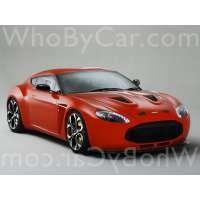 Модель Aston Martin V12 Zagato