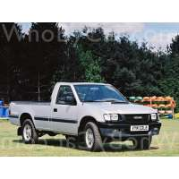 Модель Isuzu TF (Pickup)