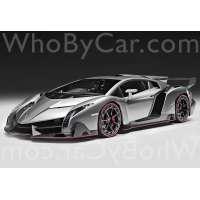 Модель Lamborghini Veneno