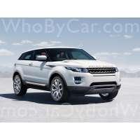 Модель Land Rover Range Rover Evoque