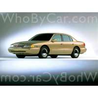 Модель Lincoln Continental