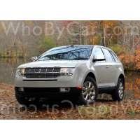 Модель Lincoln MKX