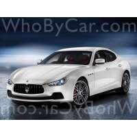 Модель Maserati Ghibli