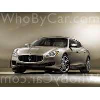 Модель Maserati Quattroporte