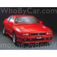Модель Maserati Shamal