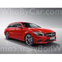 Модель Mercedes-Benz CLA-klasse