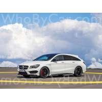 Модель Mercedes-Benz CLA-klasse AMG