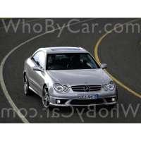 Модель Mercedes-Benz CLK-klasse AMG