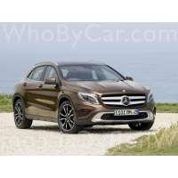 Поколение Mercedes-Benz GLA-klasse